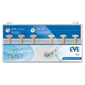 EVE DIACOMP PLUS TWIST Polierer SET RA 343
