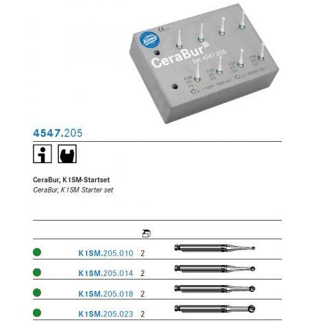 KOMET CeraBur Starter-Set 4547.205