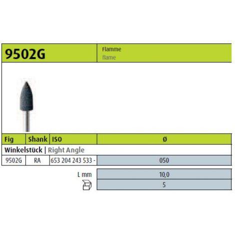 JOTA Polierer Flamme schwarz 9502G.204.050