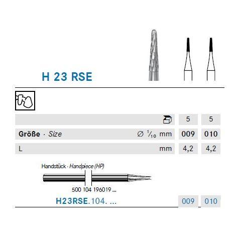 KOMET Hartmetall Bohrer H23RSE.104.009