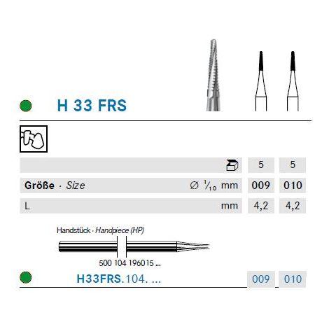 KOMET Hartmetall Bohrer H33FRS.104.009