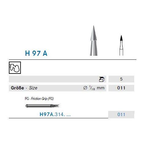 KOMET Hartmetall Bohrer H97A.314.011