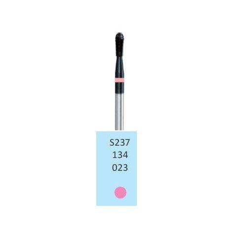 HORICO Schwarz beschichteter HM-Fräser fein/pink S237.134.023